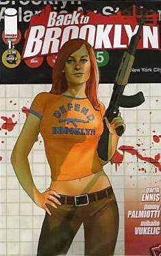 redhead def bro comic book
