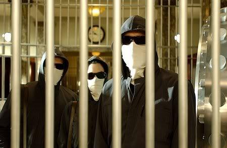 Inside Man bank robbers