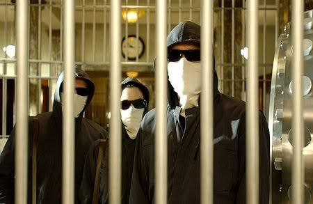 Inside Man bank robbers